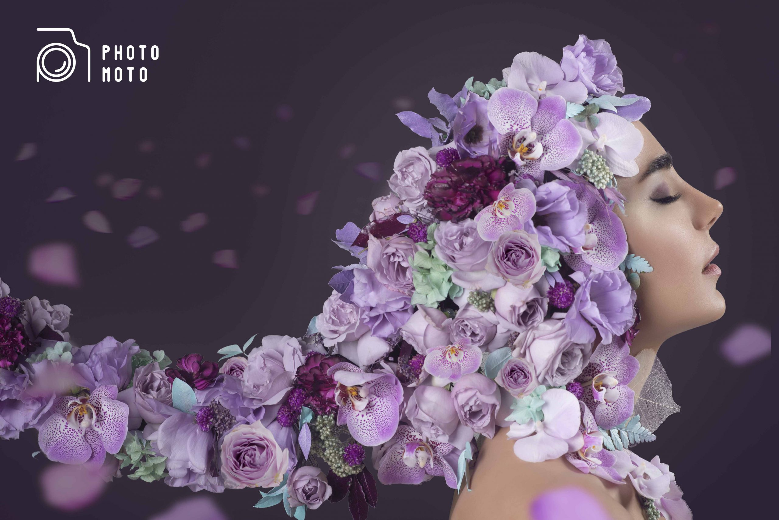 عکاسی با گل آرایی